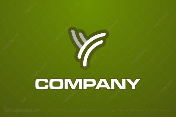 Y Logo Funky Letter Y Logo