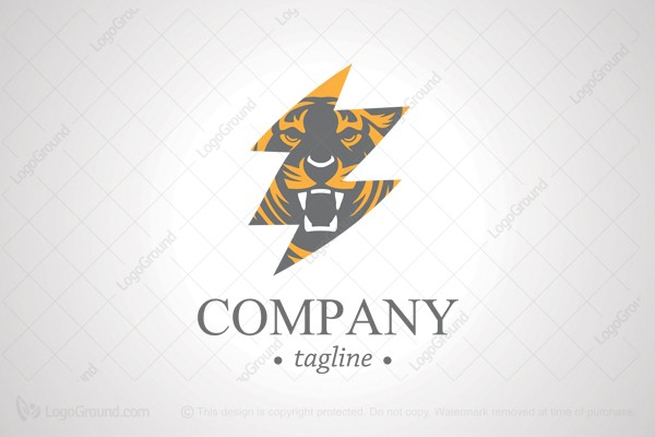 Logo for sale: Bengal Tiger Logo
