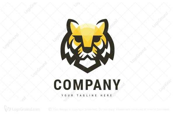Logo for sale: Tiger Logo