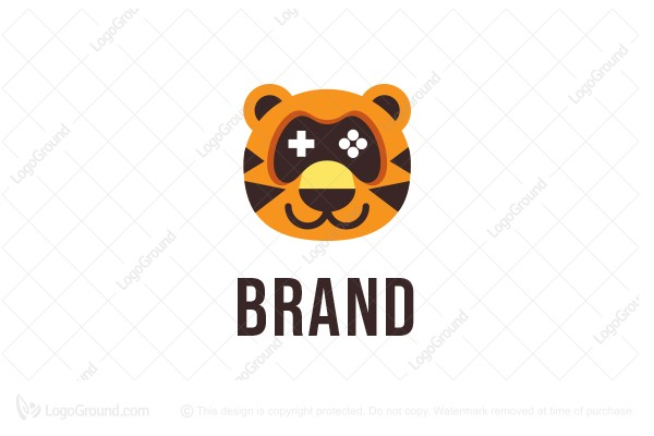 Logo for sale: Tiger Game Logo