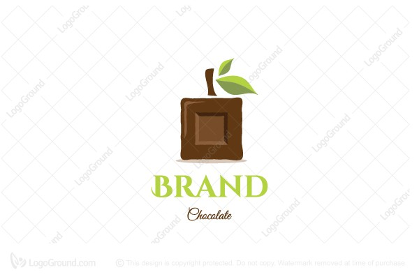 Logo for sale: Healthy Chocolate Logo
