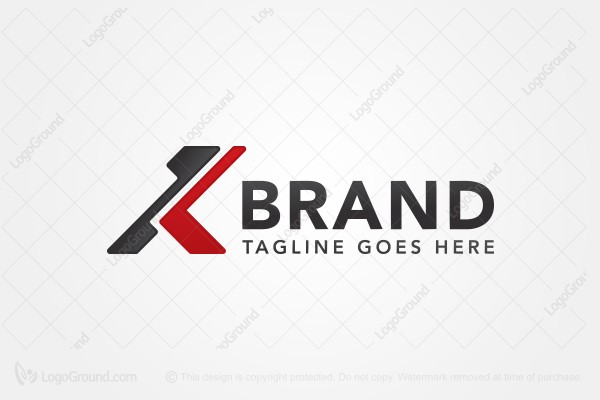 Exclusive Logo 126356 Abstract Letter K Logo