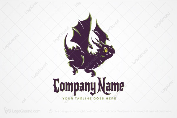 Logo for sale: Baby Dragon Logo