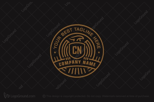 Logo for sale: Heraldry Badge Logo