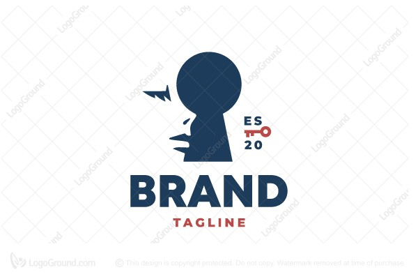 Logo for sale: Woman Privacy Logo