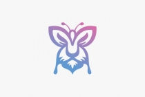 Butterfly Lion Logo