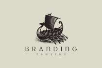 Viking Ship Logo