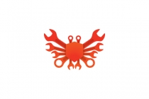 Wrench Crab Logo