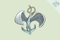 Anchor Wings Logo
