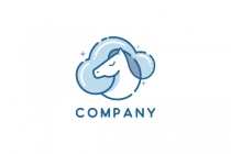 Horse Cloud Logo