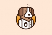 Dog Scientist Logo