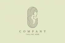 Beautiful Lady Logo