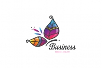 Bright Butterfly Logo