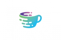 Coffee Cup Tech Logo