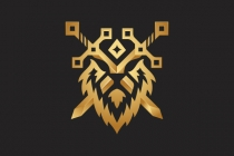 Lion Warrior Logo