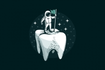 Teeth Lander Logo
