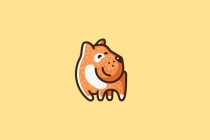Ginger Dog Logo