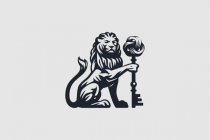Lion With The Key Of...