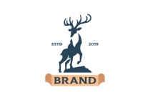 Handsome Deer Logo