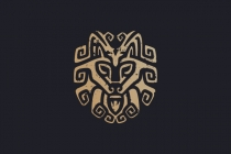 Tribal Wolf Logo