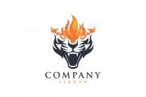 Jaguar Fire Logo