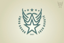 Eagles And Star Logo