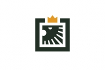 Simple Lion Logo