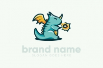 Cartoon Dragon Logo