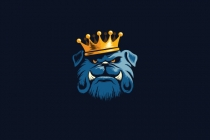 King Bulldog Logo