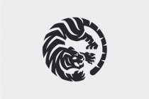 Tiger In Circle Logo