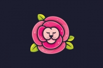 Lion Rose Logo