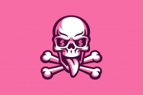 Money Skull Logo