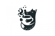 Fox And Coffee Logo