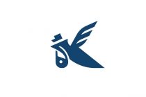 K Courier Bird Logo