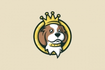 Royal King Dog Logo