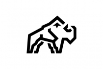 Mountain Bison Logo