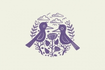 Folk Birds Logo