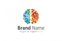 Brain Dot Logo