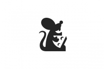 Mouse And Cheese Logo