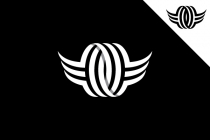 Winged Letter O Logo