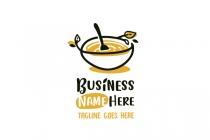 Honey Food Logo