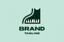 Piano Cat Logo